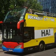 Bucuresti: In weekend, autobuzele liniei turistice vor circula pe un traseu modificat