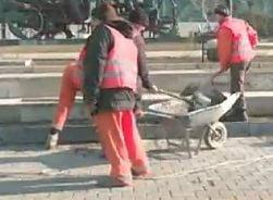 Bucuresti se repara dupa proteste