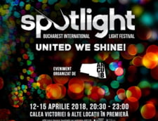 Bucurestiul devine un oras al luminilor. Incepe Spotlight - Bucharest International Light Festival