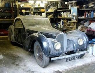 Bugatti uitat 50 de ani, vandut cu 3 milioane de euro