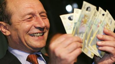 Buget 2011 - Un milion de lei in plus pentru Administratia Basescu