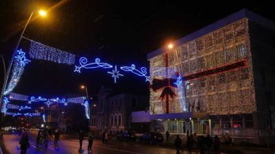 Buget uluitor alocat pentru sărbătorile de iarnă într-un oraș din Moldova. 10.000 de euro doar pentru artificii