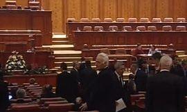 Bugetul pe 2009 a ajuns in Parlament (Video)