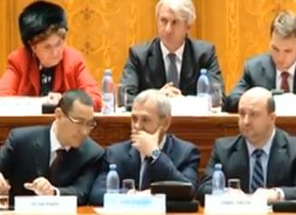 Bugetul pentru 2014 a fost aprobat. Ponta: Din pacate, din cauza unui om, o sa ne mai vedem (Video)