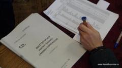 Buletinele de vot pentru alegerile parlamentare vor fi distribuite vineri si sambata celor 555 de sectii de votare din judetul Suceava