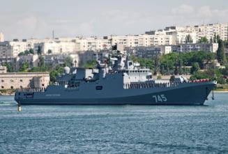 Bulgaria cedeaza in fata amenintarilor Rusiei: Se opune flotei NATO in Marea Neagra