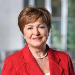 Bulgaroaica Kristalina Georgieva a devenit oficial sefa FMI