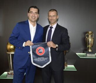 Burleanu a primit o noua functie la UEFA