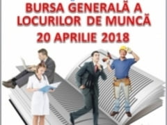 """Bursa a locurilor de munca, vineri, la """"Grigore Moisil"""""""