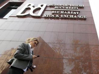 Bursa de la Bucuresti inchide in scadere moderata, dupa o zi pe muchie de cutit