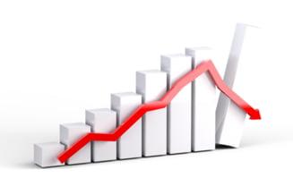 Bursa de pe Wall Street a inregistrat, luni, cea mai mare scadere zilnica de dupa criza din 2008