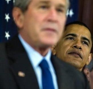 Bush declara stare de urgenta in ziua investirii lui Obama