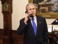 Bush nu a urmarit stirile cat a stat la Casa Alba
