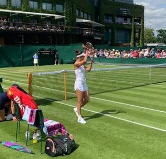 """Buzarnescu, dupa ce a fost invinsa de Simona Halep la Wimbledon: """"Sper sa fie un boom psihologic pentru mine"""""""