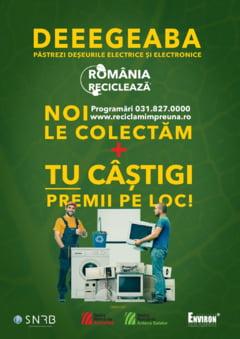 """Buzau participa in campania """"Romania Recicleaza"""""""