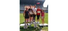Buzoianul Marius Bira, campion national la Finala de Atletism pentru Juniori III