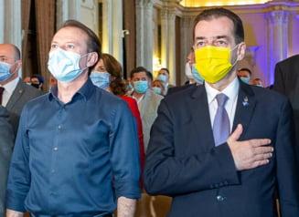 """Cîțu îl compară pe Orban cu Dragnea. """"Contracandidatul meu este alături de USR şi de AUR şi cere voturile PSD ca să dea jos propriul Guvern"""""""