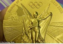 Cât ghinion...O sportivă din China se plânge că i se cojește medalia de aur obținută la Jocurile Olimpice