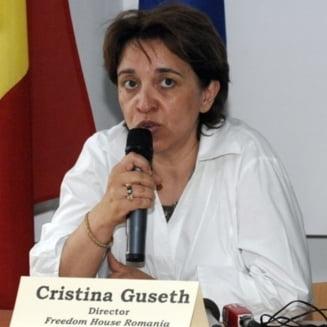 "C.Guseth (Freedom House): Ponta a dat mesajul ""Eu sunt jupanul, eu schimb Parchetele"""