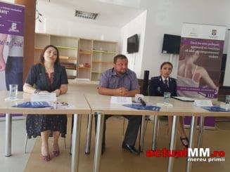 CAMPANIE NATIONALA - Municipiul Baia Mare a deschis sirul evenimentelor dedicate combaterii si prevenirii violentei in familie
