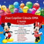 CASA EMA: Super-distractie de Ziua Copilului cu Moby, Pingu si Delfi!