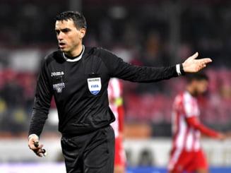 CCA a decis numele arbitrului care va oficia derbiul FCSB - Dinamo
