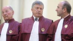 CCR: Nu a fost conflict constitutional intre Guvern si presedinte la numirea noilor ministri (Video)