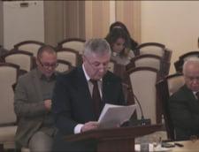 CCR a amanat decizia in cazul protocoalelor cu SRI. Filmul dezbaterii dintre Iordache si procurorul de la Parchetul General