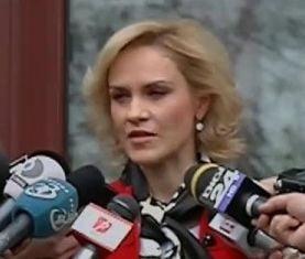CCR a respins sesizarea Gabrielei Firea: Presedintele are imunitate