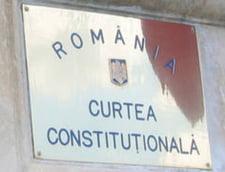 CCR a respins sesizarea Opozitiei privind memorandumul cu Rompetrol