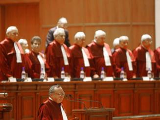 CCR amana pentru joi verdictul in cazul referendumului