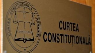 CCR discuta marti pe marginea conflictului juridic intre Parlament si Parchetul de pe langa ICCJ