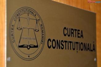 CCR discuta pe 12 februarie conflictul dintre Guvern si Parlament pe tema bugetului de stat