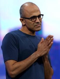 CEO-ul Microsoft se scuza, dupa o gafa colosala