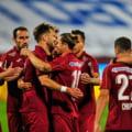 CFR Cluj - FC Botosani 1-0, clujenii castiga primul meci, dupa cazurile de Covid 19 si au sanse la titlu