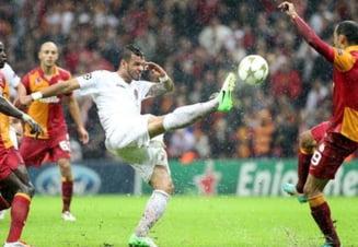 CFR Cluj, invinsa clar de Galatasaray in Liga Campionilor
