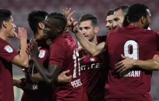CFR Cluj, start perfect in grupele Europa League. Echipa lui Dan Petrescu a invins-o pe TSKA Sofia la ea acasa, cu 12.000 de fani in tribune