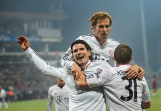 CFR Cluj, umilita de Bayern Munchen in Liga Campionilor (Video)