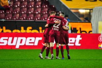CFR Cluj, victorie la -10 grade. Campionii Romaniei, neinvinsi cu Iordanescu junior in Liga 1