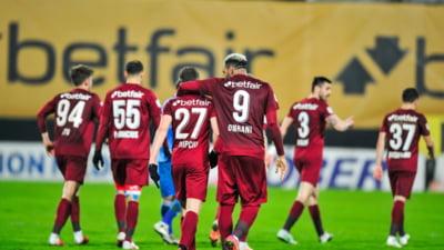 CFR Cluj a învins Academica Clinceni, cu scorul de 2-1 (0-0)