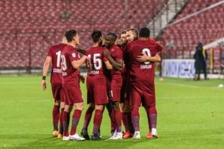 CFR Cluj a castigat la Voluntari si se apropie la trei puncte de liderul Ligii 1, Universitatea Craiova