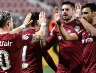 CFR Cluj a dat de pamant cu revelatia FC Arges. Un fundas al pitestenilor si-a dat un autogol si a facut doua penalty-uri