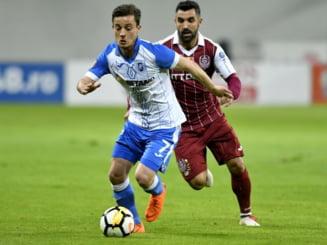CFR Cluj a invins-o dramatic pe CSU Craiova, in playoff-ul Ligii 1