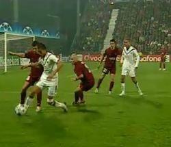 CFR Cluj a pierdut din nou cu Bordeaux (Video)