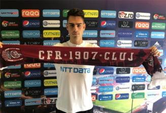 CFR Cluj a transferat un jucator trecut pe la FCSB si Dinamo