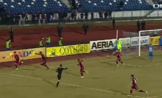 CFR Cluj castiga in ultima clipa si are sanse mari la play-off-ul Ligii 1
