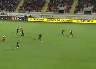 CFR Cluj castiga spectaculos la Giurgiu si se distanteaza in clasamentul Ligii 1