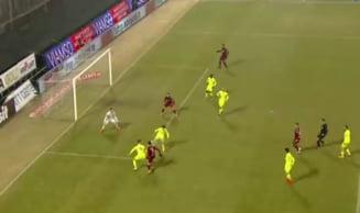 CFR Cluj face un mare pas spre play-off dupa victoria cu Targu Mures