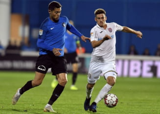 CFR Cluj face un nou pas gresit in Liga 1