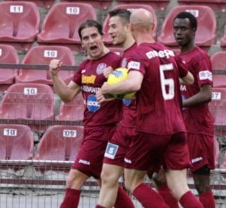 CFR Cluj forteaza calificarea in Liga Campionilor
